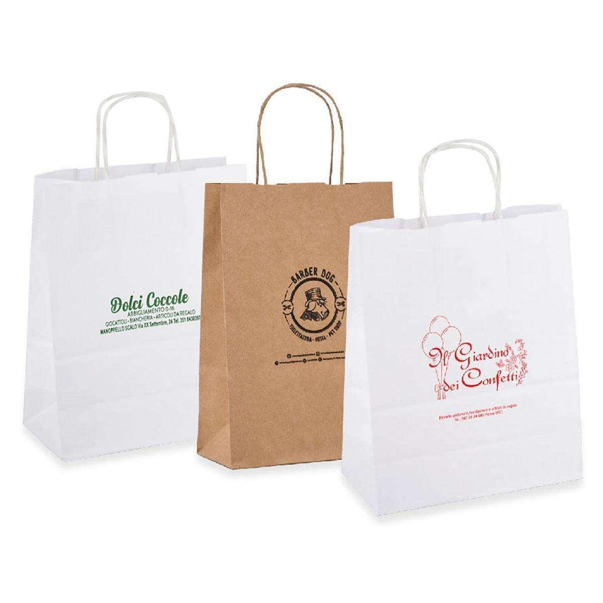 Shopper Eco personalizzata a partire da 200 pezzi