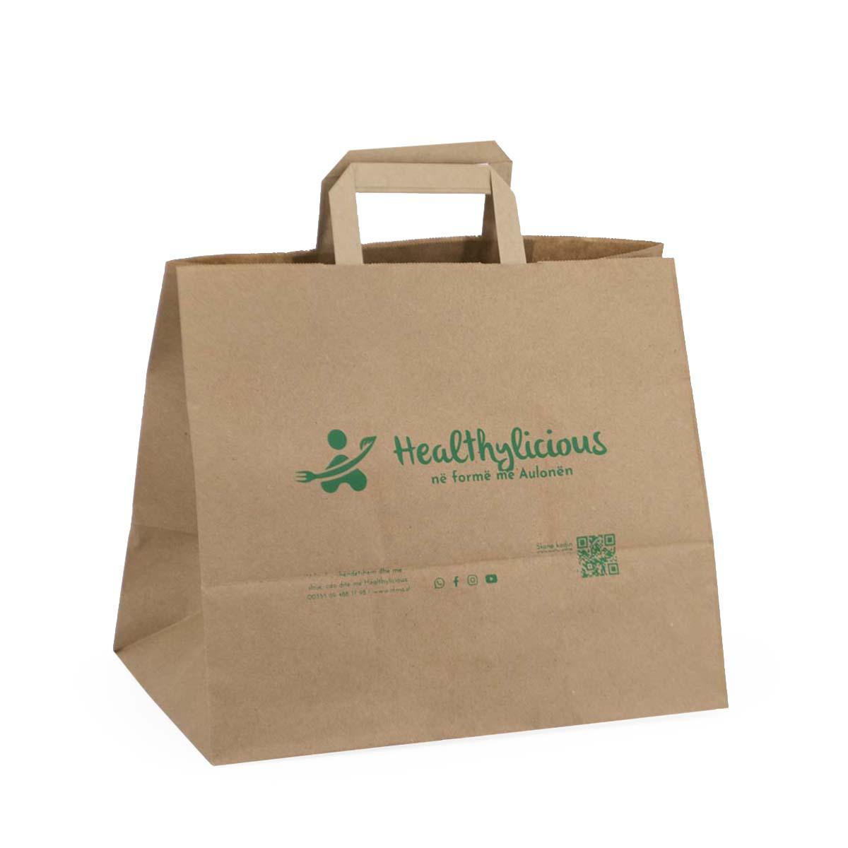 Shopper food linea Eco: personalizzabili ed economiche